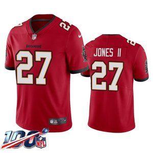 Tampa Bay Buccaneers Ronald Jones II Red Jersey